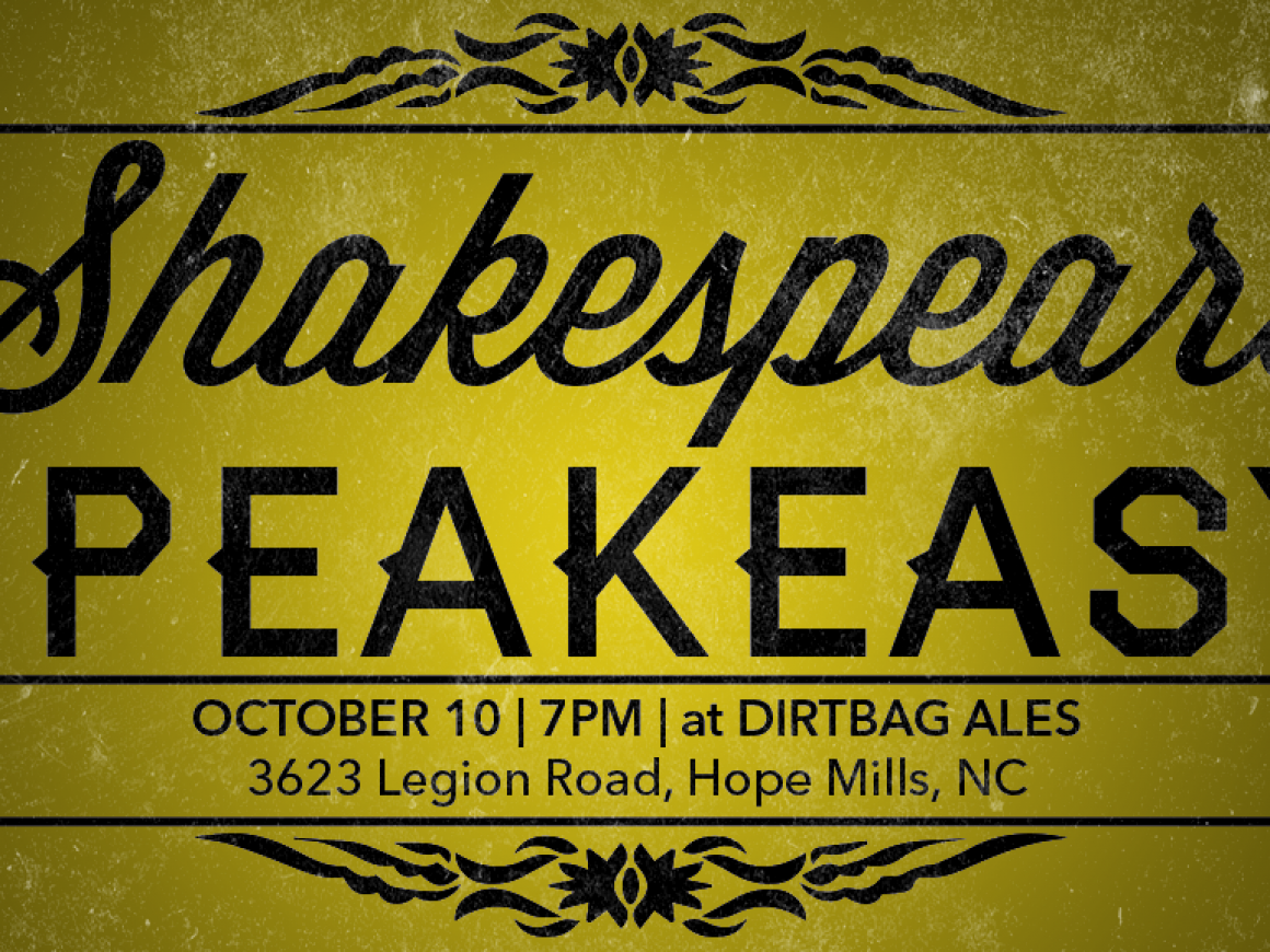 Shakespeare Speakeasy